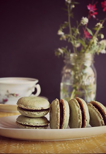 Matcha Macaron // Green Tea Macaron by Fitri D. // Rumah Manis