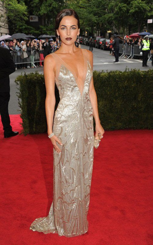 Costume Institute Gala Met Ball - May 7, 2012, Camille Belle