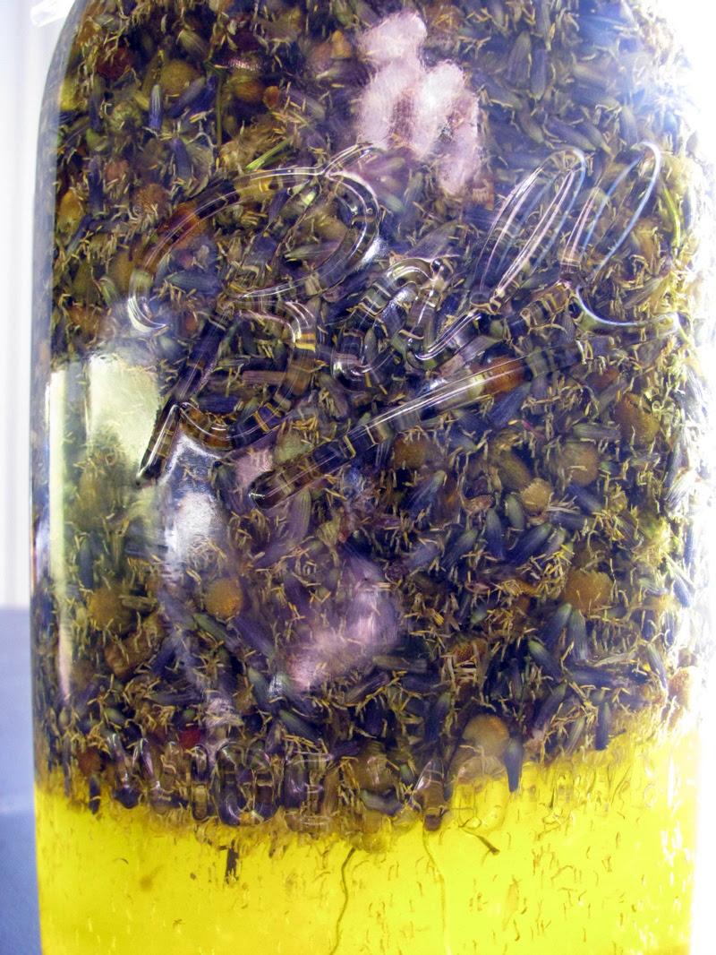 lavender + chamomile olive oil