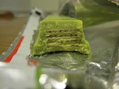 KitKat Matcha Inside
