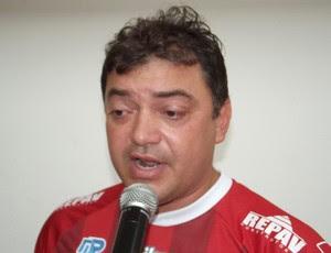 Benjamim Machado, presidente do Potiguar de Mossoró (Foto: Jocaff Souza)