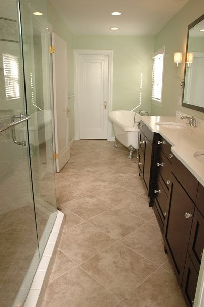 best bathroom floor tile designs