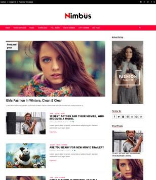 Nimbus Blogger Templates