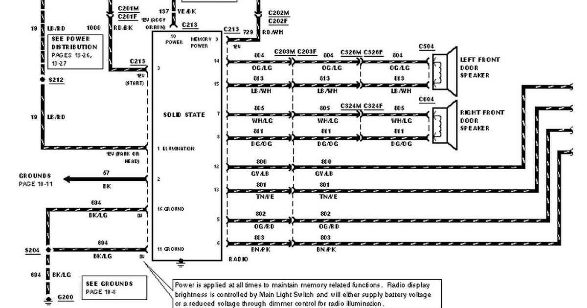 1999 Ford E350 Wiring Diagram