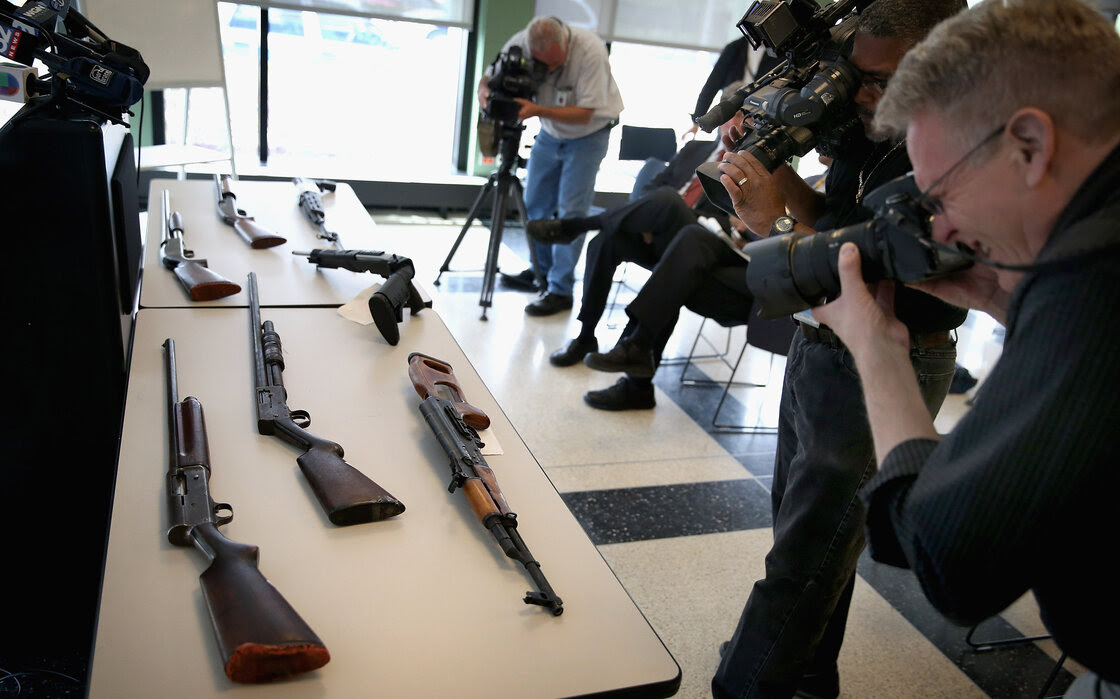 The U.S. rate of gun homicides and other crimes fell after 1993, according to two studies released Tuesday. But a survey showed that only 12 percent of Americans said they felt gun homicides had fallen.