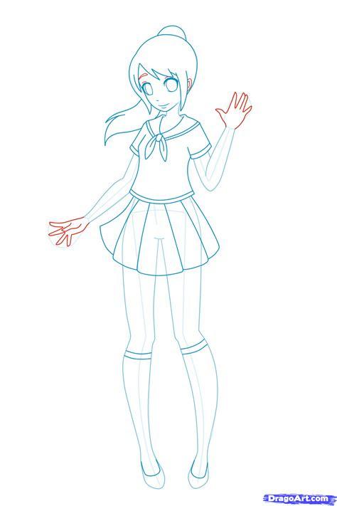 draw anime  kids step  step people  kids
