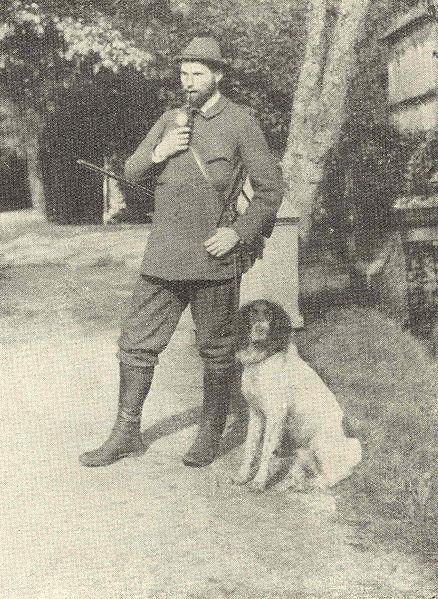 Bl. Clemens August von Galen in 1899 after a hunt.