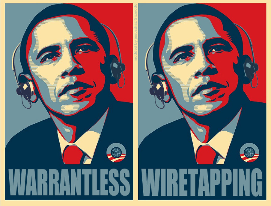 Image result for obama wiretaps