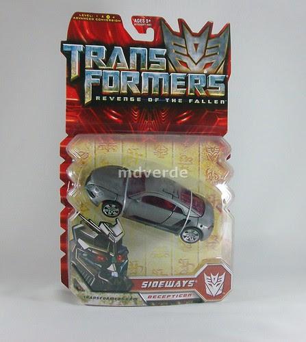 Transformers Sideways RotF Deluxe - caja