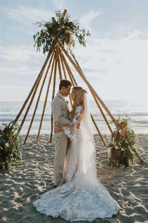 Breezy Cream and Beige Beach Wedding at Levyland Estates