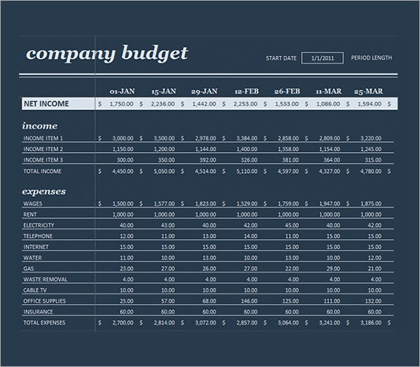 Business Budget Planning Template1