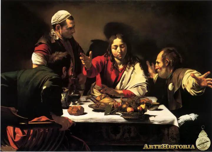 Cena en Emaús