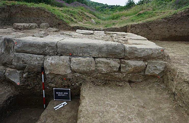 Αυτός ο τύπος κατασκευής είναι χαρακτηριστικός για τις ελληνιστικές αμυντικές δομές.  Πιστοποίηση εικόνας: PAP - Επιστήμη στην Πολωνία