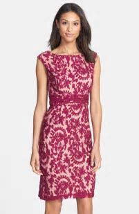 Lace Sheath Dresses On Trend For Spring Wedding Guest Season!