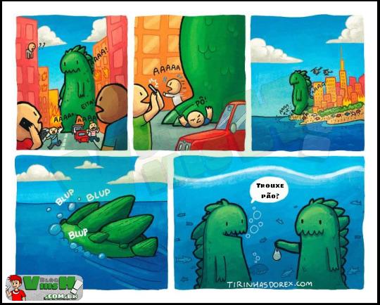 Blog Viiish - Os monstros só gostam de pão fresquinho