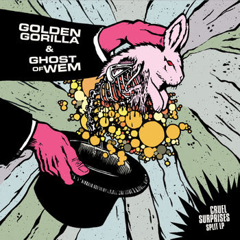 Ghost of Wem / Golden Gorilla - split - LP (Preview) cover art