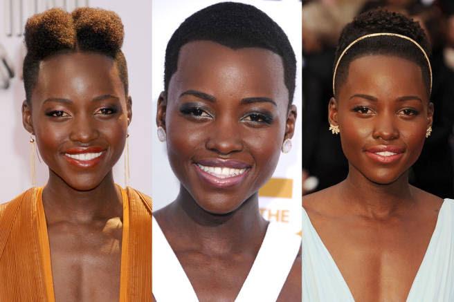 lupita nyong'o hairstyles