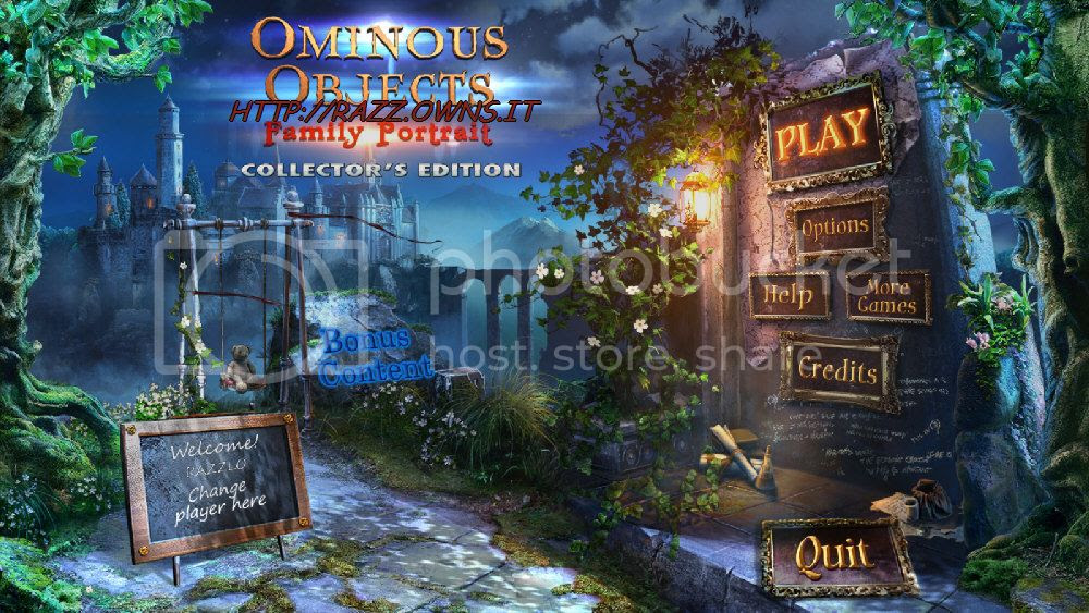 Ominous Objects: Family Portrait Collector's Edition [FINAL]