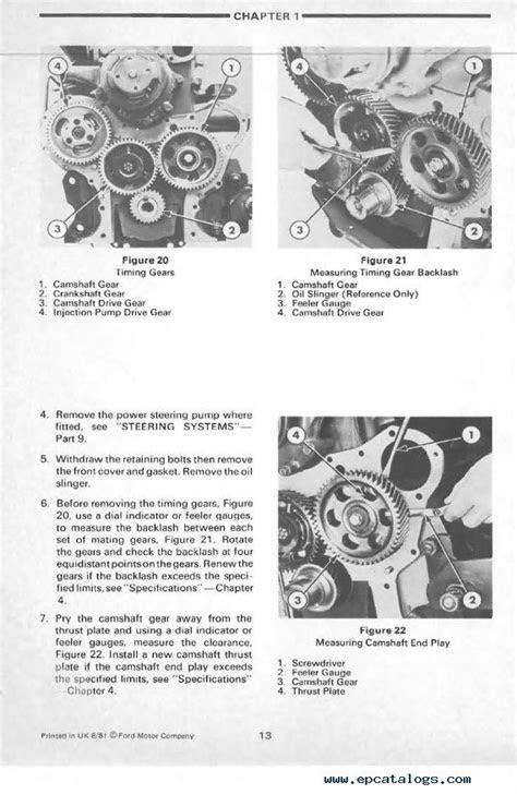 New Holland Ford 4610 Tractor Repair Manual PDF
