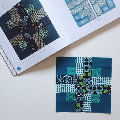 Tula's City Sampler - Block 1 by Jeni Baker