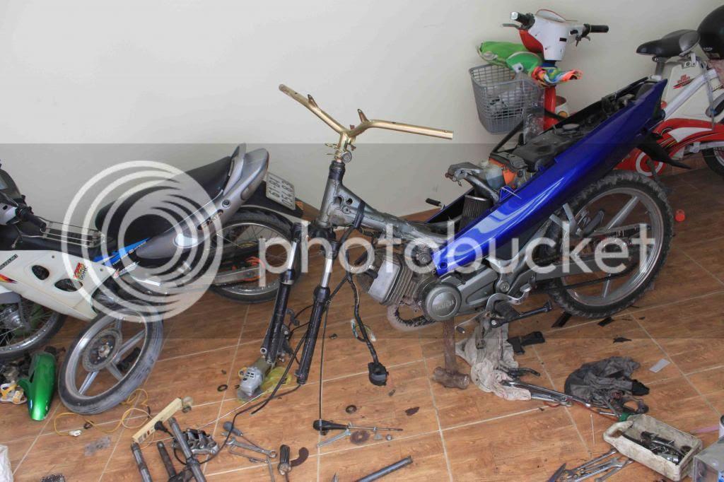 Hướng dẫn độ Yamaha Jr thành Yamaha 125 ZR