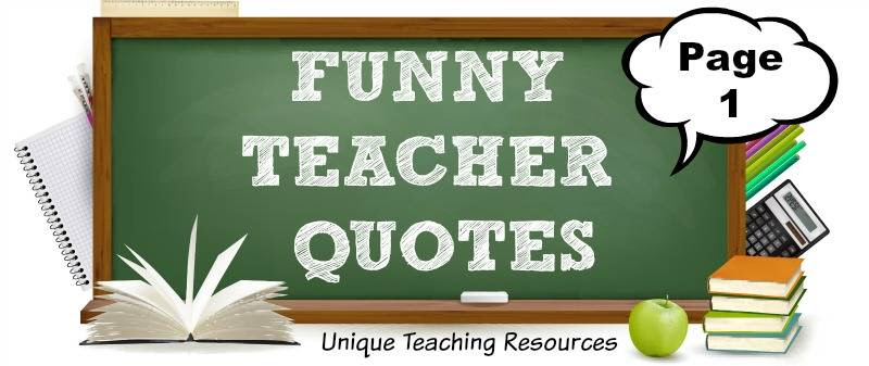100 Funny Teacher Quotes Graphics And Pdf Files