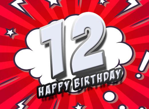 12 Geburtstag Glückwünsche Und Sprüche