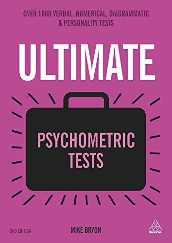Somchai Rickey  Free Ultimate Psychometric Tests  Over 1000 Verbal  Numerical  Diagrammatic And