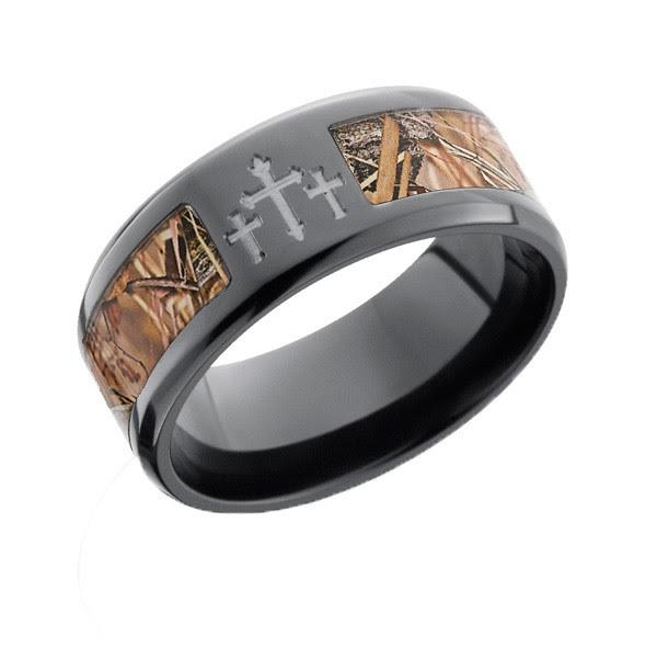 Women s fishing wedding rings