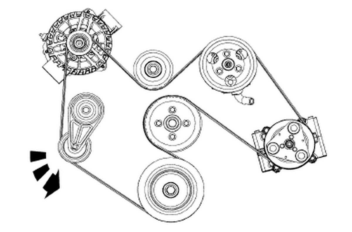 View 1993 Ford F150 Serpentine Belt Diagram Pictures