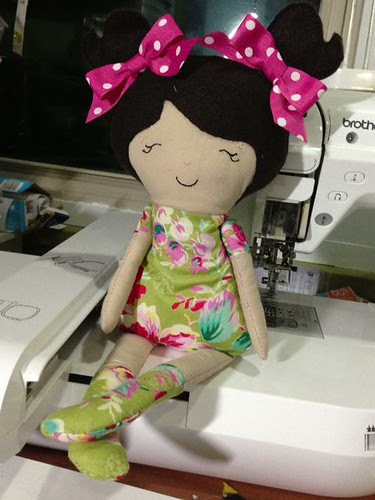 ITH dolly handmade with love by Breanne T first ever dolly