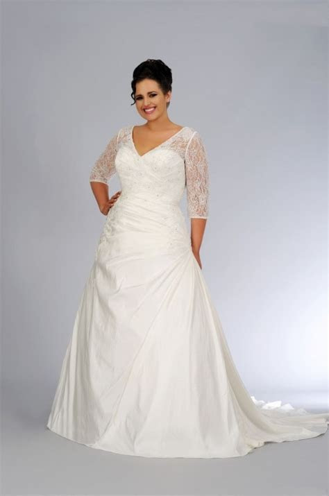 22 Beautiful Plus Size Wedding Dresses   YusraBlog.com
