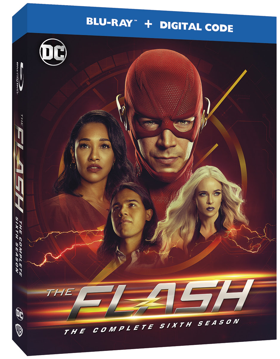 Blu Ray Review The Flash The Complete Sixth Season Flashtvnews