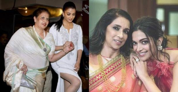 Pictures Of Bollywood Stars With Their Mommy Dears