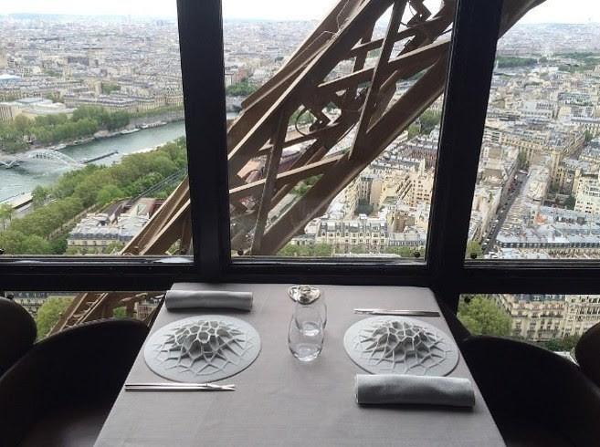 Le Jules Verne, Париж, Франция деликатесы, еда, настоящие гурманы, удивительное рядом
