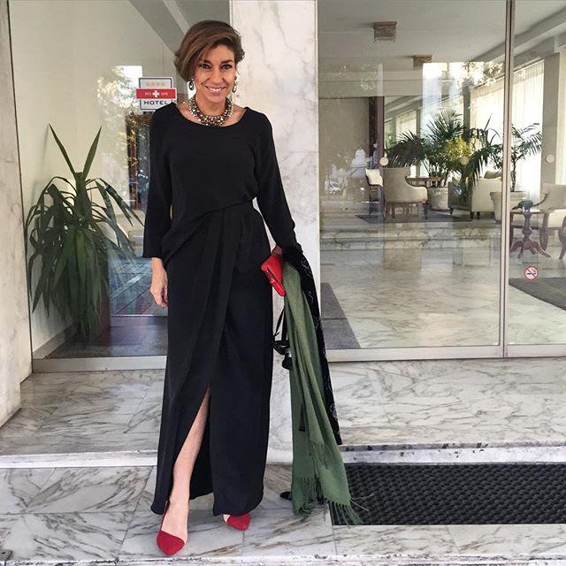Meu look... vestido Barbara Casasola e bijoux Caleidoscopio!!