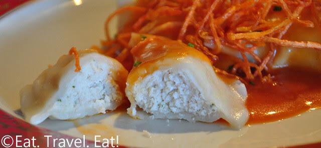 Sesame Grill: Chicken Dumplings Interior