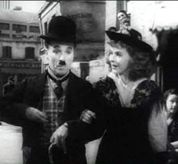 Cropped screenshot of Charlie Chaplin and Paul...