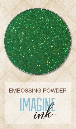 Imagine Ink - Embossing Powder - Lucky - Click Image to Close