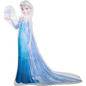 Amazon.com : Christmas Inflatable 5' LED Photoreal Elsa ...