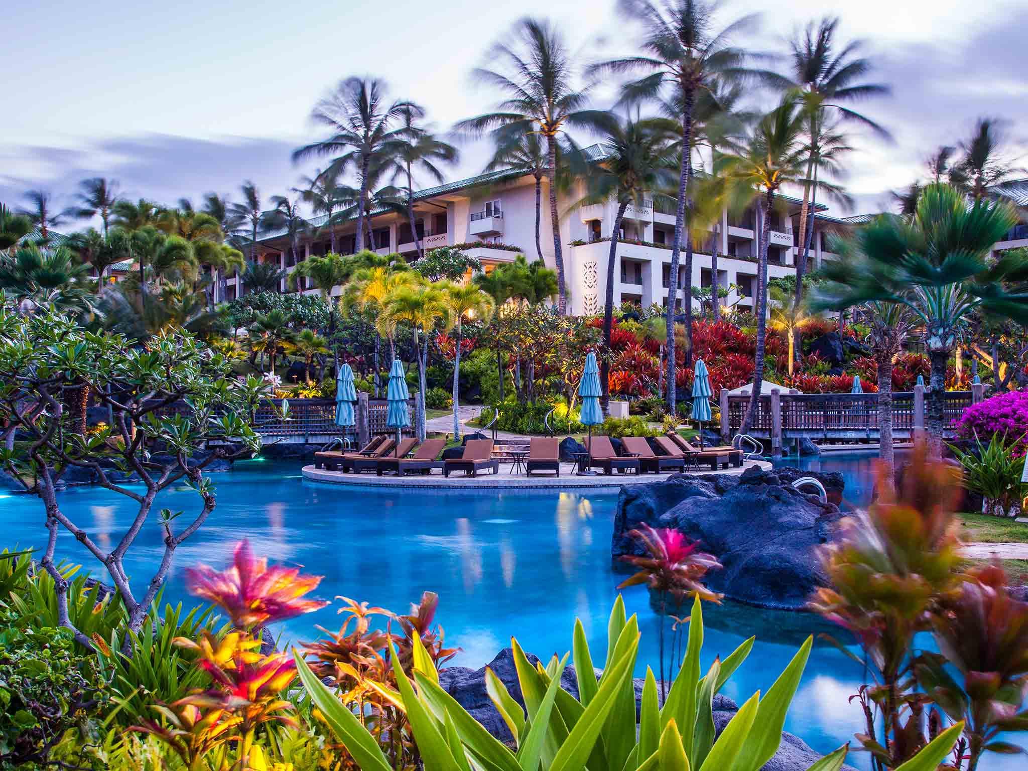 Grand Hyatt Kauai Resort And Spa Kauai Hawaii  Resort