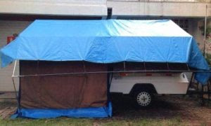 Carreta-Barraca Camping Car 1989