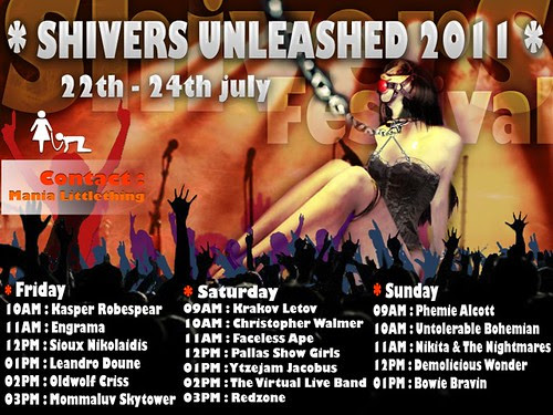 Shivers Unleashed 2011