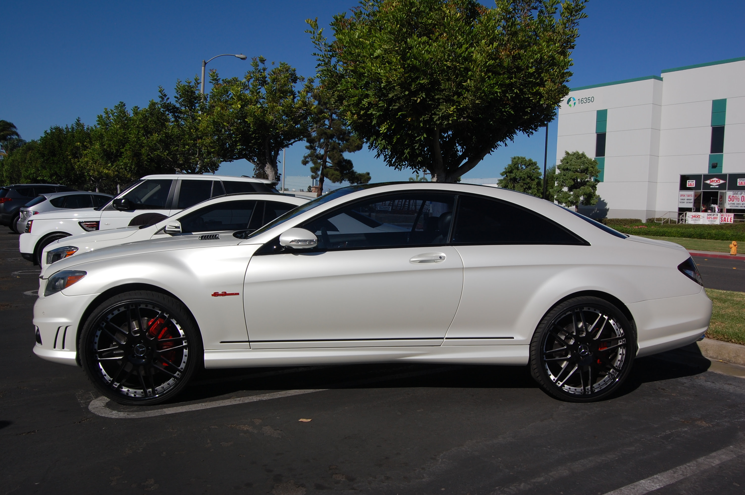 A Plasi-Dip Nightmare for this 2008 Mercedes Benz CL63 ...