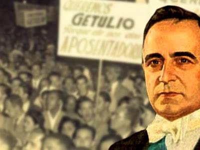 Getúlio Vargas e marcha por aposentadoria