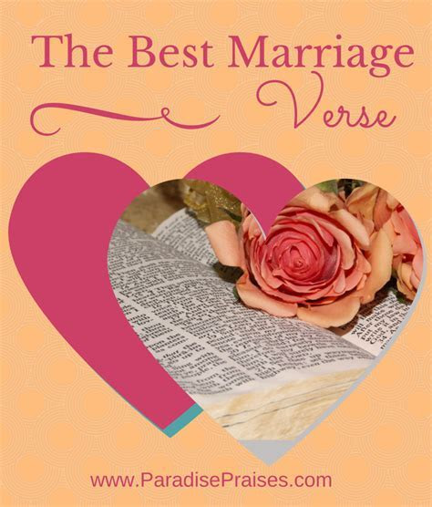 The Best Bible Verse About Marriage   Kids   Family   Home