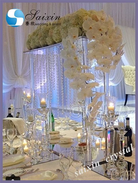 New ! 6 Tiered Crystal Wedding Cake Stand For Wedding