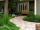 Outdoor & Gardening Photo: Woody Modern Front Yard Landscape ...