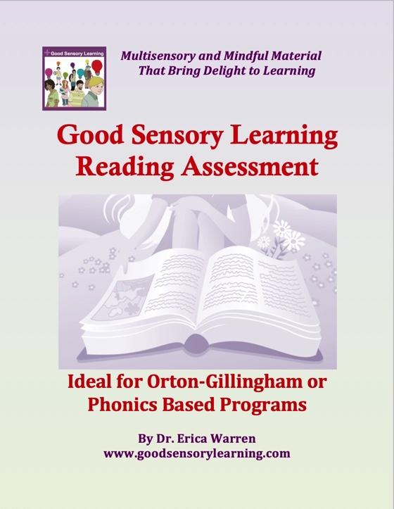 Phonics reading assessment