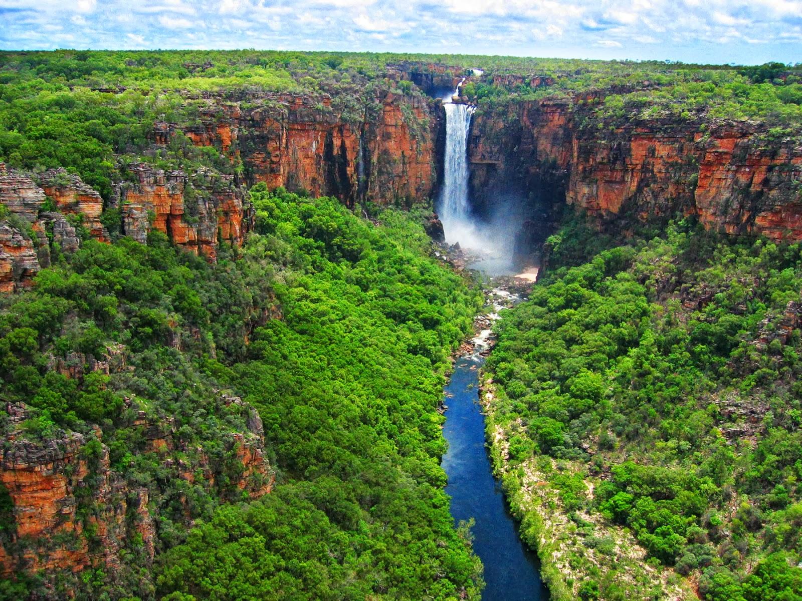Jim Jim Falls - Waterfalls in Northern Territory